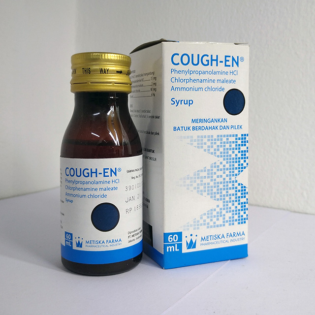COUGH EN Syrup 60 mL, Metiska Farma