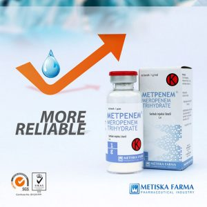 METPENEM vial, Meropenem Trihydrate, Metiska Farma