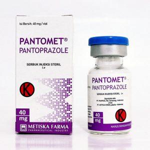 PANTOMET vial, Pantoprazole, Metiska Farma