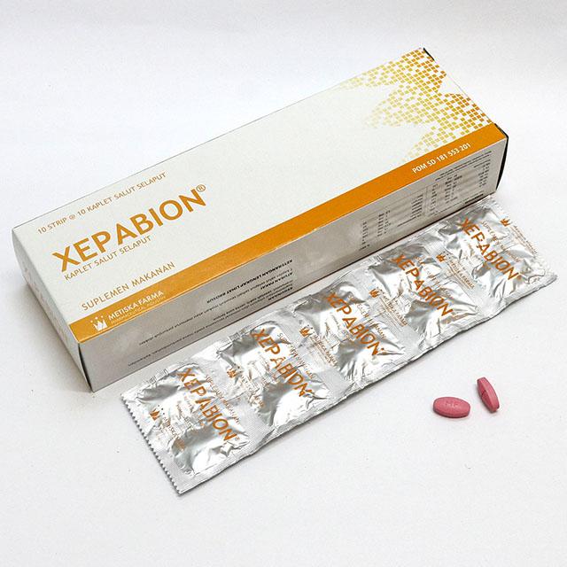 XEPABION Multivitamin & Mineral, Metiska Farma