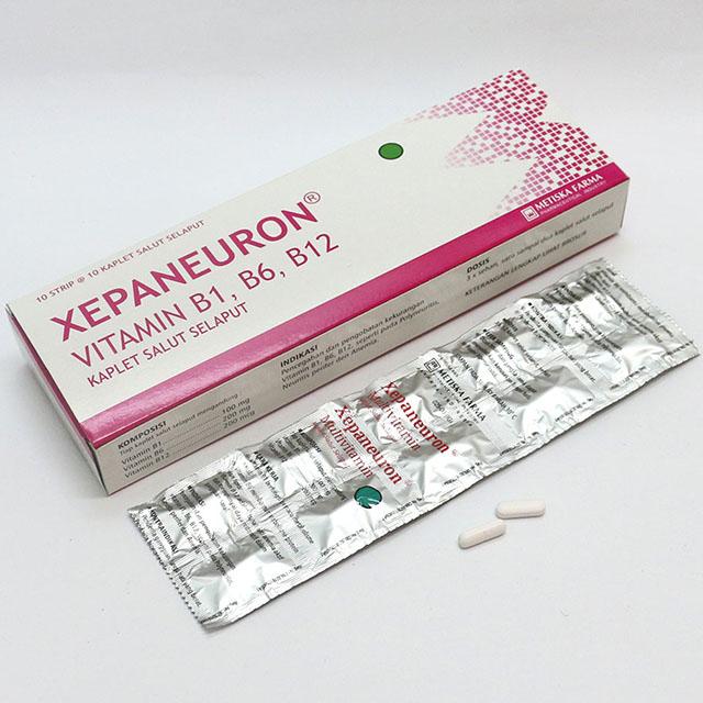 XEPANEURON Multivitamin, Metiska Farma
