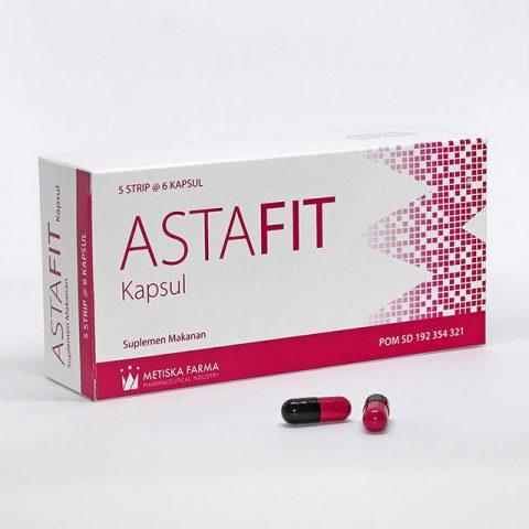 ASTAFIT Kapsul Suplemen Kesehatan, Metiska Farma