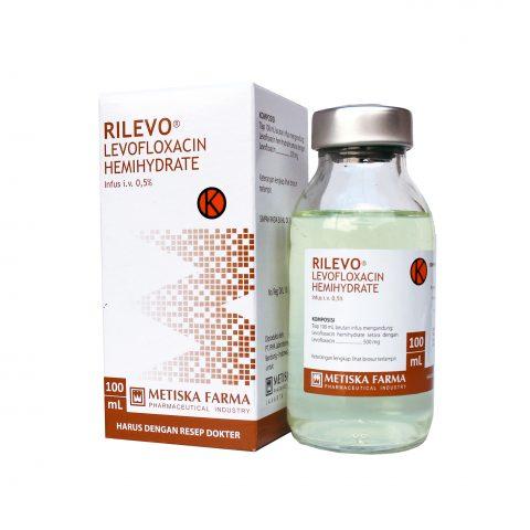 Rilevo infus, Levofloxacin, Metiska Farma