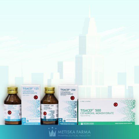 TISACEF - Cefadroxil Monohydrate, Metiska Farma