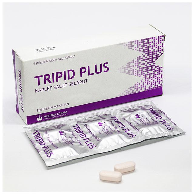 TRIPID Plus, Suplemen Kesehatan, Metiska Farma