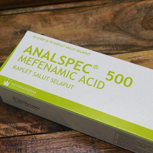 Analspec 500, Mefenamic Acid, Metiska Farma