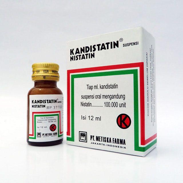KANDISTATIN Suspensi - Nystatin 100.000 IU, Metiska Farma